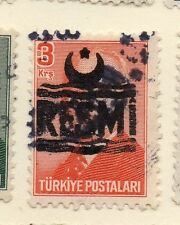 Turkey 1955-56 Optd Resmi Star & Crescent Issue Fine Used 3k. 085960