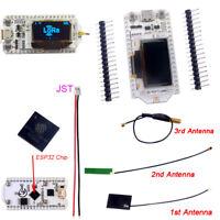 0.96inch OLED Display Lora ESP32 WIFI Bluetooth Development Board 433Mhz Antenna