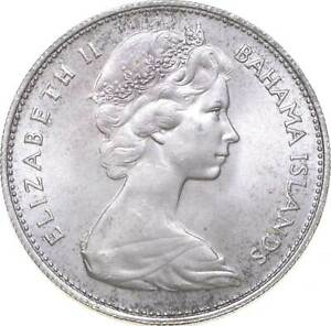 Better - 1966 Bahama Islands 1 Dollar - TC *405