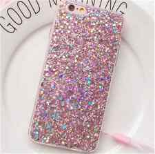 Luxury Full Bling Glitter TPU Soft Cover Case for iPhone 5 6S 7 8 X Plus Samsung