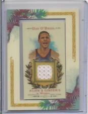 DAN O'BRIEN RELIC DECATHLON  2007 TOPPS ALLEN & GINTER BASEBALL