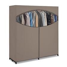 "New 60"" Wardrobe Extra Wide Clothes Storage Closet Space Home Organizer"