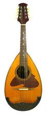 Japan Suzuki No.226 Bowlback Solid Spruce Maple Mandolin, Hard Case, OJMN182