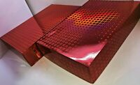 "18"" RED Cardboard DIY Hamper Tray Gift Box CONGRAT CHRISTMAS Birthday WEDDING x2"