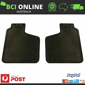 New Land Rover Mud Flap Pair Front With Bracket Discovery 1 1989-1999 RTC6820