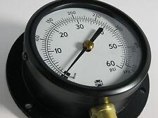 """Pressure Gauge 126588 5801 3 1/2"""" 0-60 PSI 0-400KPA 1/4"""" LMC"""