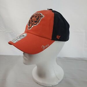 Chicago Bears NFL Brand New Sparkly Two Tone 47 Clean Up Wmn Adjustable Hat Cap