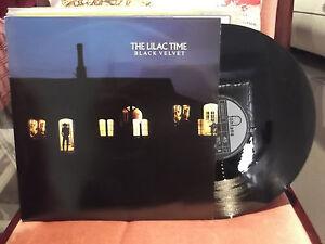 """the Lilac time  - """"black velvet"""" - 3 track 12"""" EP"""