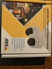 Axis M3105-LVE Indoor/Outdoor Network Security Camera System - White.