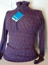 NEW Columbia Women's Outerspaced Half Zip Long Sleeve Shirt Size XS $60 Retail