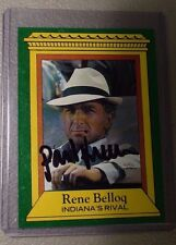 "1981 Topps Raiders of the Lost Ark Proof Card #4 signed by Paul ""Belloq"" Freeman"