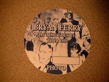 Bryan Ferry As Time Goes By 99 Photo Backstage Concert Pass