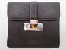 -Joli portefeuille/porte-monnaie RALPH LAUREN nubuck/cuir (T)BEG vintage
