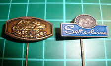 Setterlaine Setter Set nylons - dog dogs stick pin badge 60's lapel speldje 2pcs