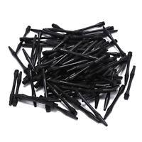 100Pcs Nylon Dart Shafts 6Mm Screw Thread Plastic Darts Accessories FE