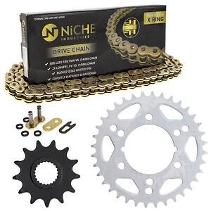 Sprocket Chain Set for Polaris Scrambler 500 400 13/36 Tooth 520 X-Ring Kit