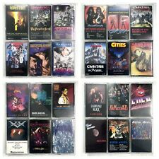 BUILD UR OWN Cassette Tape Lot - Classic 80's 90's Death, Thrash & Power Metal