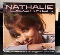 """Rare EP Nathalie Degand """" J'ai Rendez-Vous Avec Lui  """" Languette - NM / MINT !!!"""