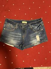 Paris Blues Women's Juniors Distressed Style Jean Shorts, Super Cute size 7