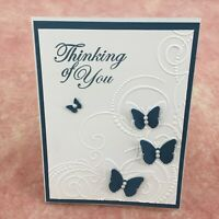 Sympathy Cards Handmade Handcrafted Stamped w/envelopes Lot of 3 Greeting Cards