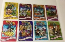 Carte dragon ball SD  Fancard  Carddass Visual Custom card prism Set Part 1