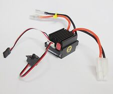 Regulador ESC 320A BRUSHED de 6v a 12v WATERPROOF para RK Himoto Tamiya XRAY