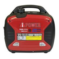 A-IPOWER SUA2000ID 2000Watts Recoil Start Dual Fuel Powered Inverter Generator