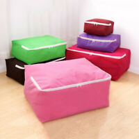 Foldable Closet Bag Non-Woven Fabric Clothes Organizer Quilt Folding Storage