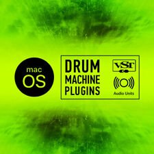 Drum Machine Plugins / AU & VST Instruments / Mac OSX macOS / Logic Ableton Live