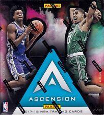 2017-18 Panini Ascension Basketball sealed hobby box 12 packs of 5 NBA cards