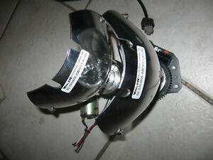 Nice LOT of 2 Whelen Rotating Light Bulb with Housing & motor # 02-0363609 020