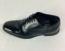 Mens Cole Haan Grand OS Wingtip Black Leather Shoes 8 M