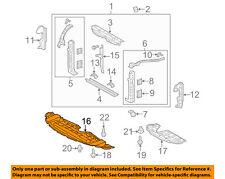 TOYOTA OEM 11-16 Sienna Splash Shield-Under Engine / Radiator Cover 5144108030