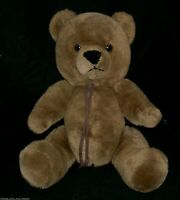 "16"" VINTAGE JOINTED BROWN TEDDY BEAR WESTCLIFF STUFFED ANIMAL PLUSH TOY TAN BIG"