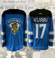 Jari Kurri Team Finland Replica Jersey Size L