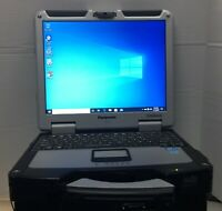 Panasonic Toughbook CF-31  i5 Windows 10 Pro 8GB RAM 275GB SS  HDD w/power cord