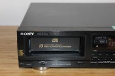 Sony CDP-C100 Audiophile 10 Disc CD Player