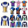 Hombres Dragon Ball Goku Larga Manga Corta T-shirts Ciclismo Super Saiyan Hot