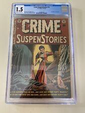 Crime Suspenstories #13 CGC 1.5 OW/W