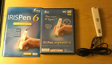 IRIS PEN EXPRESS 6 HANDHELD SCANNER - FOR WINDOWS & MAC - Works for Win 7, 8, 10