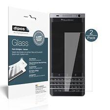 2x Blackberry DTEK40 Schutzfolie - Folie Glasfolie 9H  dipos Glass Displayfolie