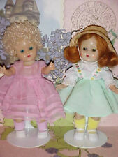 Two 1950's Ginny Size Dresses ONLY ~ NO DOLLS or Accessories