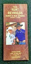 Burt Reynolds & Loni Anderson Ranch Brochure Jupiter Florida extremely rare 2