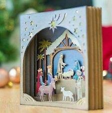 Winter Christmas Nativity Scene Metal Cutting Dies Card Making Scrapbooking