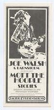 Joe Walsh & Barnstorm 1973 Sep 22 Paramount Northwest Portland Handbill