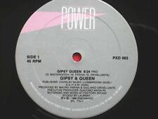 "Gipsy & Queen Gipsy Queen 12"" Power PXD082 EX 1986 12 inch, Italian pressing, Gi"