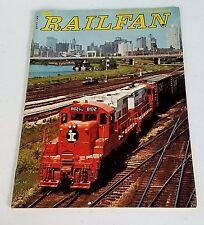 Railfan Magazine (Railfan & Railroad Magazine) Spring 1975 2nd Issue Very Rare