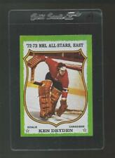 1973 Topps Hockey Ken Dryden #10 NM A