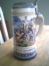 Olympic Stein 1988 Anheuser Busch