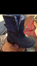 UGG Butte Boots  blue and Cheetah print limited edition size 6 in women
